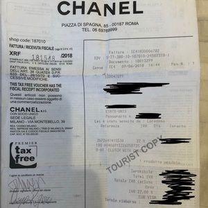 CHANEL Bags - Chanel Boy Clutch  w/ chain in Beige Caviar